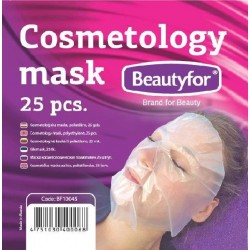 SPA Cosmetology Polyethylene Facial Masks (25)