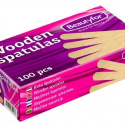 Disposable Wooden Waxing Spatulas (100)
