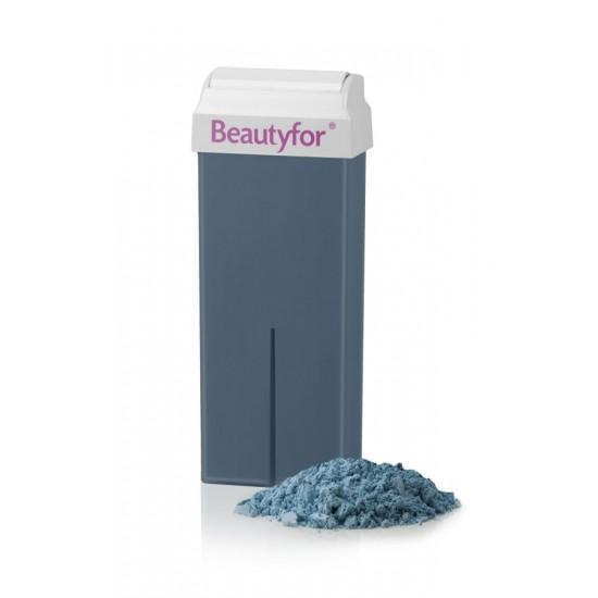 Wax roll-on cartridge Blue Azulene Beautyfor 100 ml