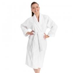 White bathrobe L