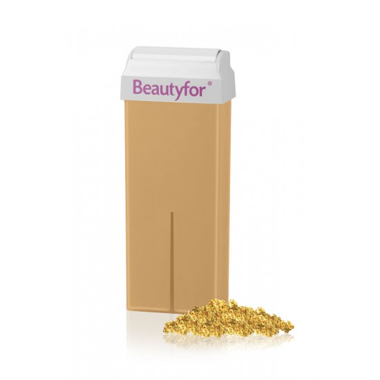Wax roll-on cartridge, Micromica Gold Beautyfor 100 ml