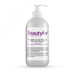 Beautyfor Pre-Wax Aloe Vera Gel with Marigold 500ml