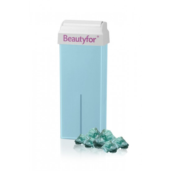 Wax roll-on cartridge, Titanium Talc Beautyfor 100 ml