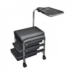 """Salon seat for pedicure & manicure """"CH-5005"""" (Black)"""