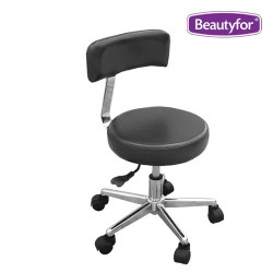 Salon stool SPA-109 black