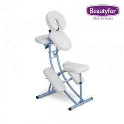 Beautyfor Portable Aluminium massage chair CH-208A white