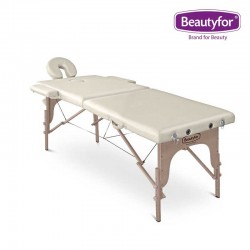 Beautyfor Portable Wooden Massage Table FMA201A white