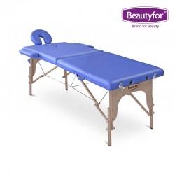 Beautyfor Portable Wooden Massage Table FMA201A blue