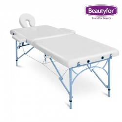 Beautyfor Portable Aluminium Massage Table FMA253K white