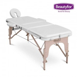 Beautyfor Portable Wooden Massage Table FMA306A white