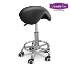 Beautyfor Salon Saddle Stool FM004-7 black