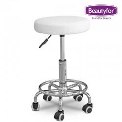 Beautyfor Salon Stool FM004-3 white