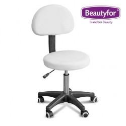 Beautyfor Salon Stool  FM28 white