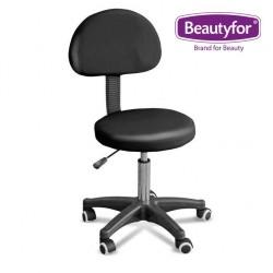 Beautyfor Salon Stool  FM28 black
