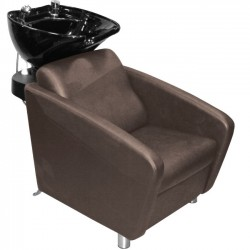 Hair washing sink and chair 556 brown
