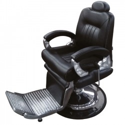 Hydraulic Barber Chair in Black unit 8771-1