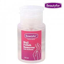 Nail polish remover in pump dispenser bottle, 118 ml