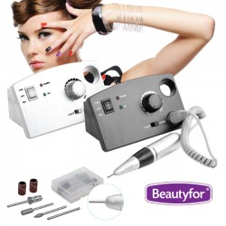 Electric Nail Drill Machine Beautyfor 35000 RPM Black