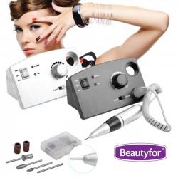 Electric Nail Drill Machine Beautyfor 35000 RPM White
