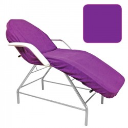 Beautyfor terry couch cover 100x215cm violet