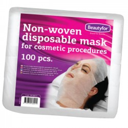 Non-Woven Pre-cut Disposable Facial Masks (100)