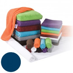 Terry towel 30x50cm blue