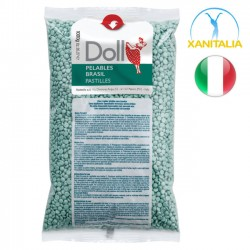 Doll Pelables Brasil горячий депиляционный воск с алоэ 1kg