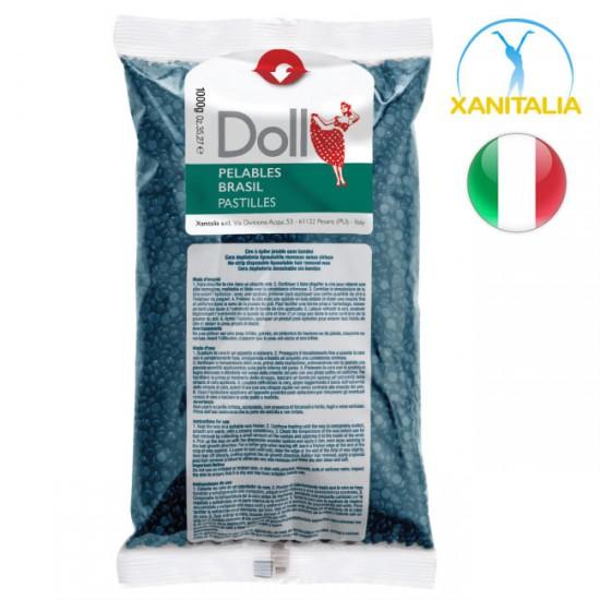 Xanitalia Doll Stripless Azulene Pelables Hot-Wax Beads 1kg