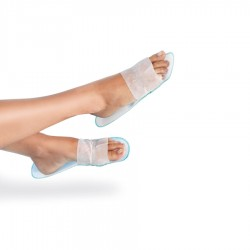 Non woven open slippers
