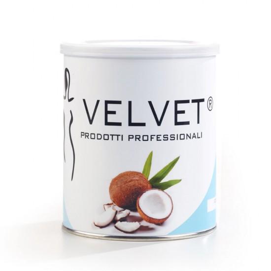 Velvet lipo-soluble wax Coconut 800ml